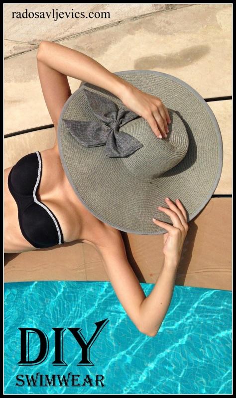 bikini, hat