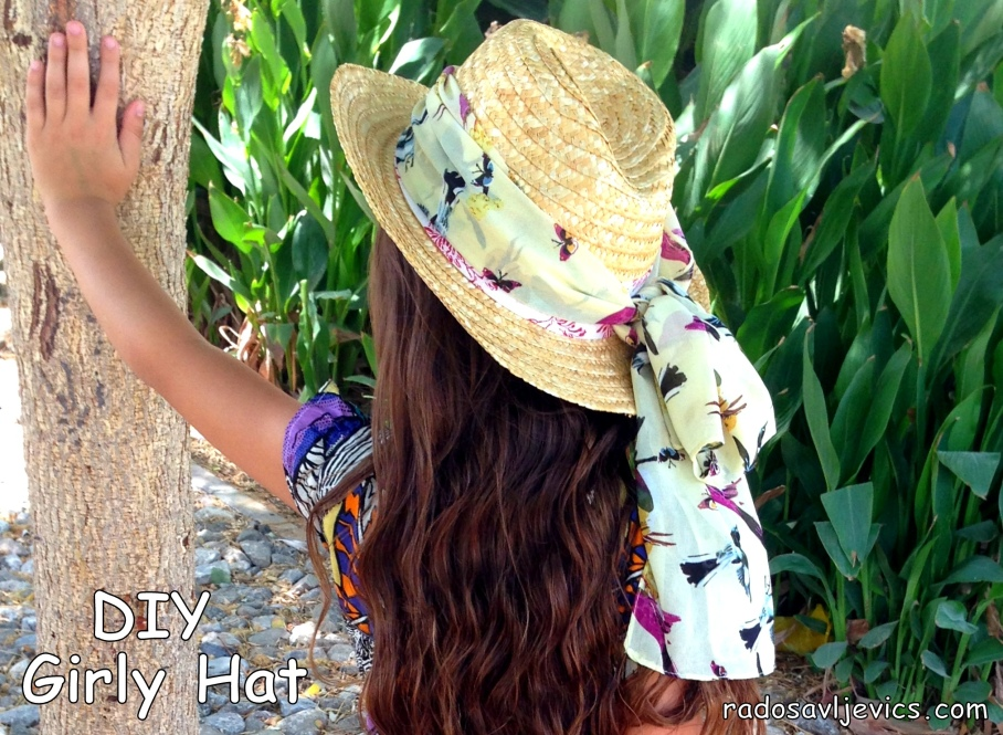 summer hat DIY
