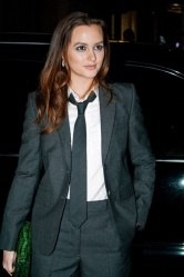 #6173114 Celebrities arrive in style at the Gotham Film Awards in NYC, NY on November 29, 2010. Pictured here: Leighton Meester Fame Pictures, Inc - Santa Monica, CA, USA - +1 (310) 395-0500