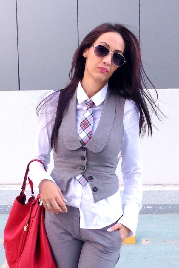 formal vest woman